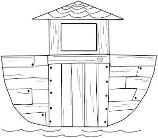 Classroom Freebies Too: Free Noah's Ark Craft from