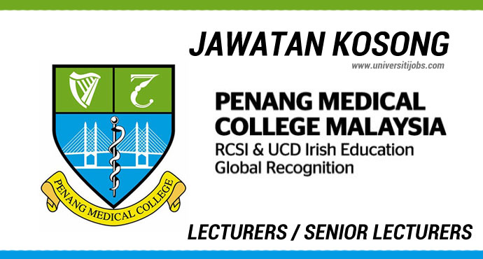Jawatan Kosong Penang Medical College (PMC) Terkini Jun 2016