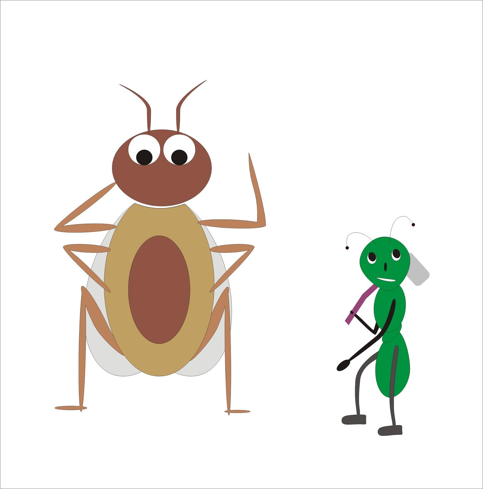 Semut Dan Kecoa Cerita Tentang Semut