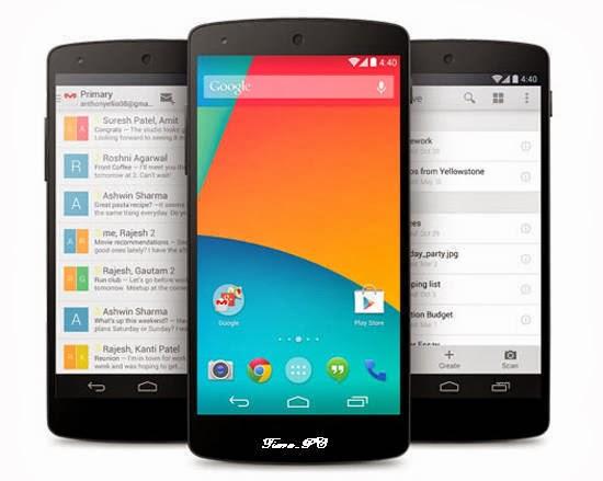 Ponsel Android LG Nexus 5 Resmi Diluncurkan