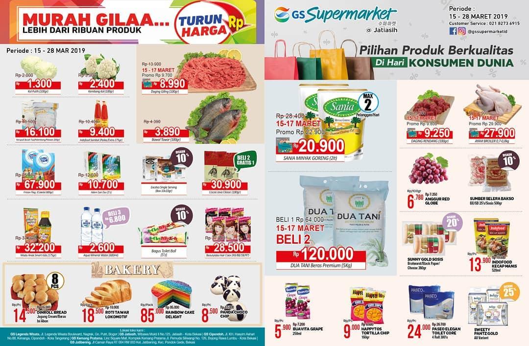 #GSSupermarket - #Promo #Katalog Periode 15 - 28 Maret 2019
