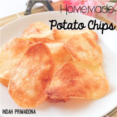 potato chips, resep potato chips, homemade potato chips, bikin potato chips sendiri