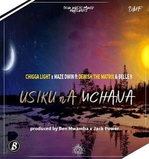 Audio Chigga Light ft Maze Dwin x Dewish The Matrix x Belle 9 - Usiku Na Mchana Mp3 Download