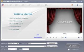 GiliSoft Movie DVD Creator 7.0.0 Full Version