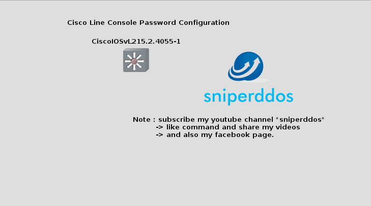 Lab 1 4-Enable Mode or Line Console Password Setting using the