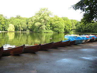 Canoes and pedal boats for rent