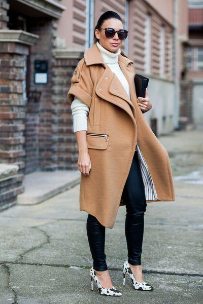 outfit cappotto color cammello come abbinare un cappotto color cammello idee outfit cappotto color cammello street style cappotto cammello tendenze inverno 2017