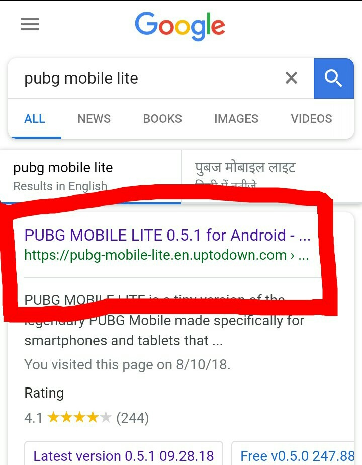 pubg mobile uptodown