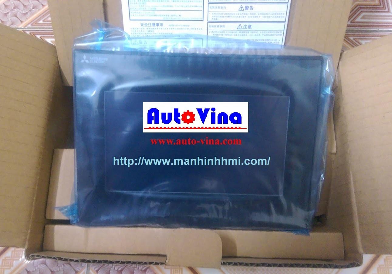 Đại lý bán, cung cấp, sửa chữa màn hình cảm ứng HMI Mitsubishi 7 inch GS2107-WTBD