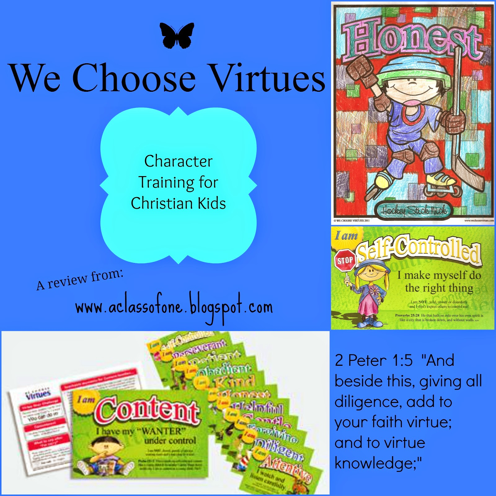"""""""Be The One"""" : Review: We Choose Virtues"""