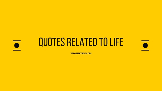 20 quotes related to life