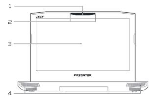 Acer Predator 15 Laptop - G9-593-77WF manual PDF download (English)