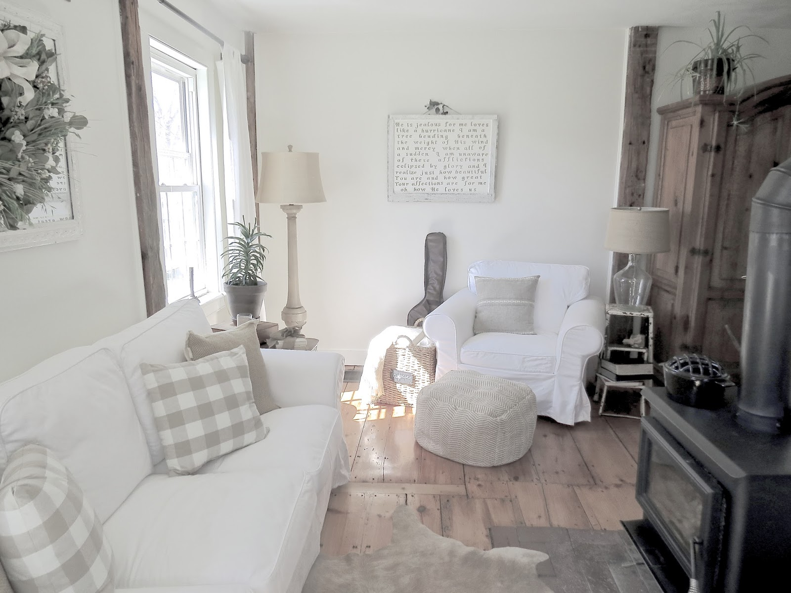 The Long Awaited Home: Quieting the Living Room for the Warmer Months