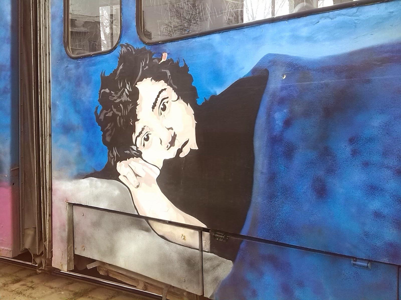 Kartoon трамвай