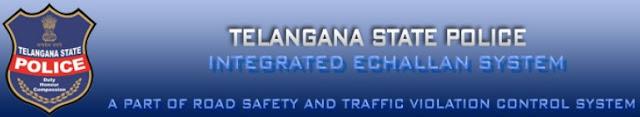 Telangana Traffic online eChallan Status