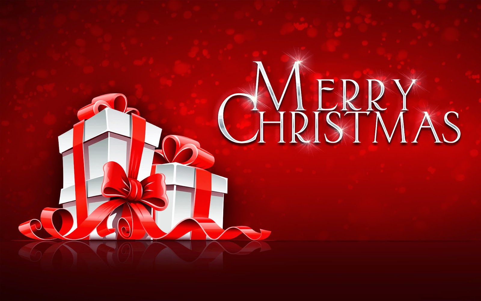 Merry christmas greeting card hd images free download merry christmas text wallpaper with gift box red m4hsunfo
