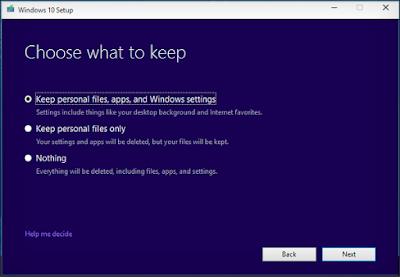كيفية تثبيت Windows جديد دون أن تفقد ملفاتك و برامجك