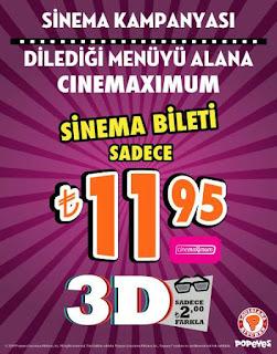 popeyes sinema menü popeyes sinema kampanya
