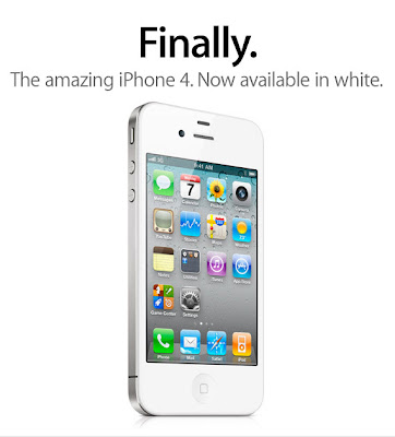 iPhone4 in white... finally!