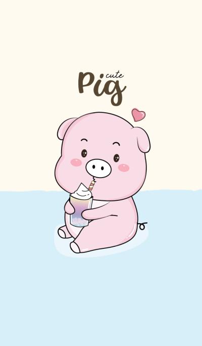 My Pig cute.