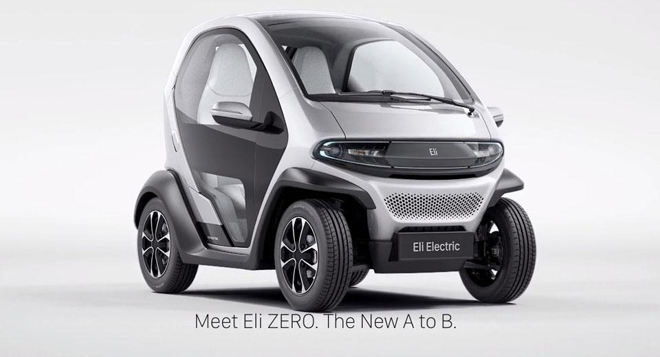 Startup Reveals Eli Zero Electric City Car Before Ces
