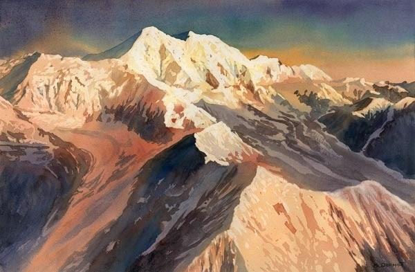 Пейзажи Аляски. Mark McDermott