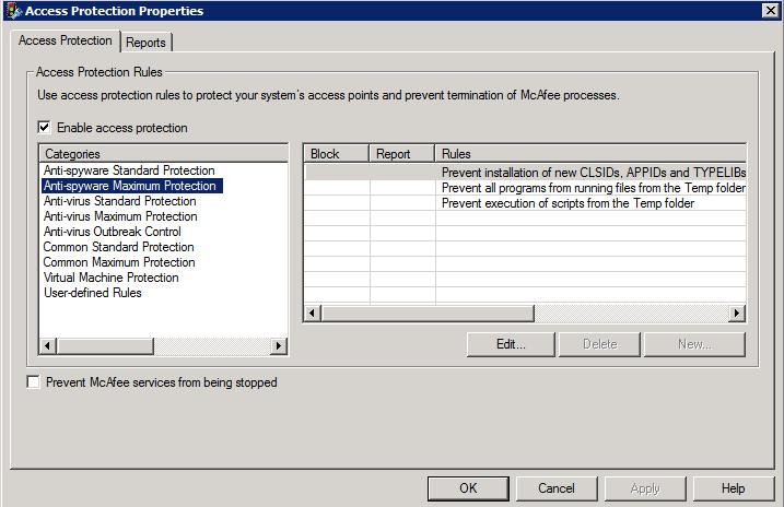 virus scanner initialization failed