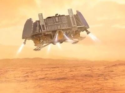 Como Será Marte no Futuro