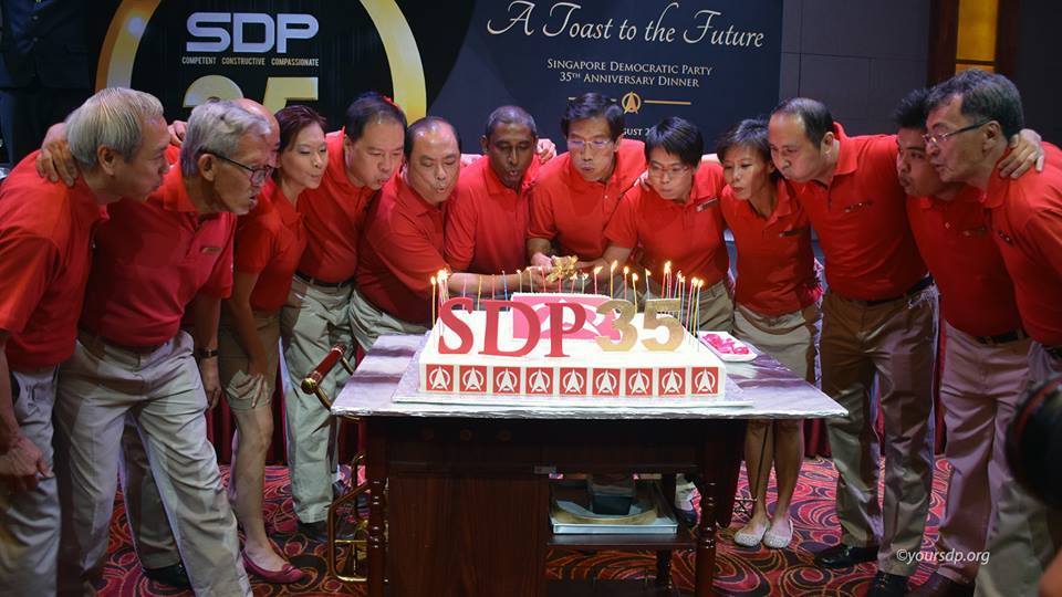 Super Guardians Of Singapore: Singapore Democratic Party