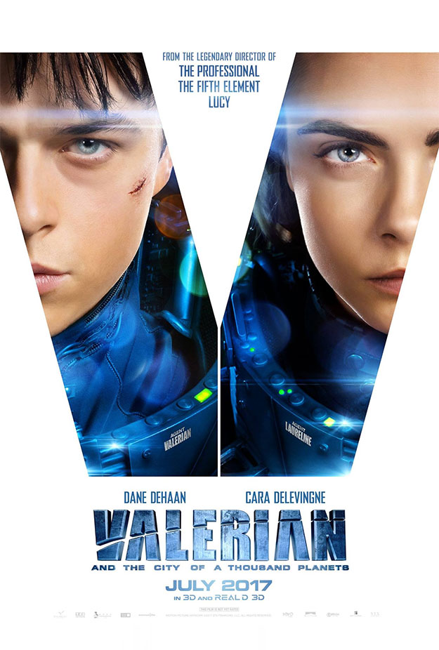 Proximos Estrenos: Valerian and the city of Thousand Planets.
