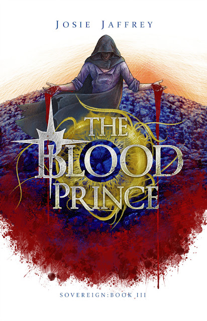 The Blood Prince by Josie Jaffrey cover