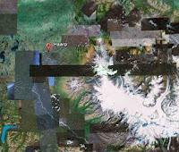 Informasi HAARP: Foto Stasiun HAARP dari satelit Google