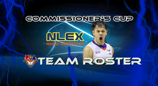 List of NLEX Road Warriors Roster (Lineup) 2017 PBA Commissioner's Cup