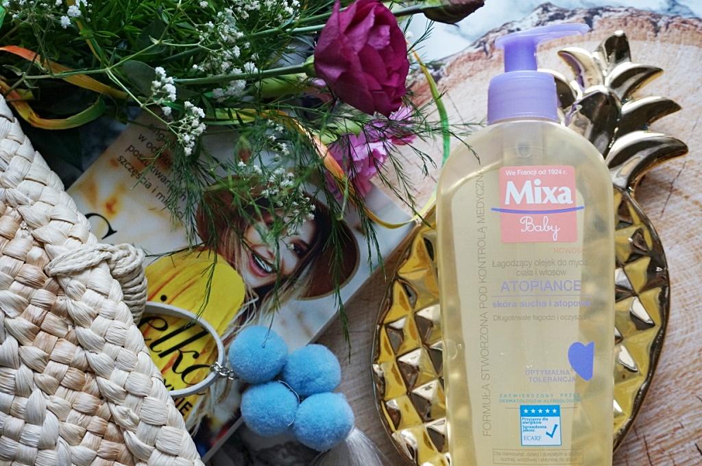 Mixa Baby Atopiance olejek domycia ciała i włosów