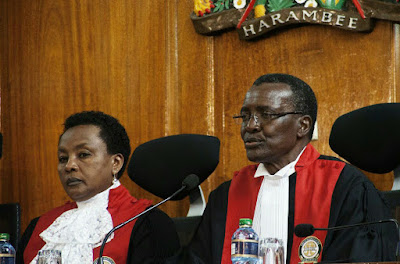 David Maraga in the supreme court. PHOTO | FILE