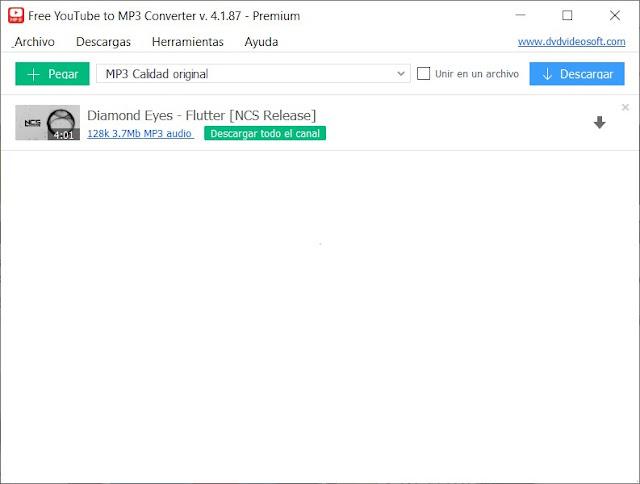 Free YouTube to MP3 Converter Premium imagenes