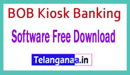 BOB Kiosk Banking Software Free Download BOB CSP/ Business Correspondent Softwares