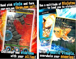 Ultimate Ninja Blazing Mod Apk God Mode For Android
