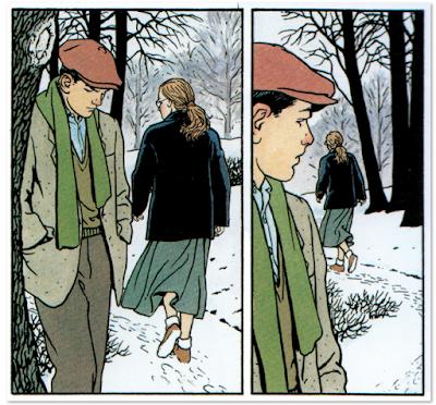 JONAS FINK, edición Integral de Vittorio Giardino, comic telón acero