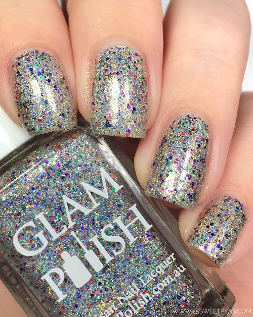 Glam Polish I Glitterally Don't Give A #$%?