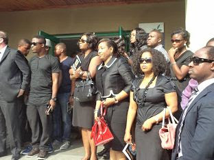 Goldie Is Laid To Rest
