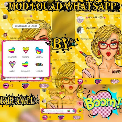 Fouad WhatsApp v7.81 Pow Edition Latest By Baby Shared By FibmanArts