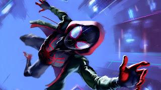 Spider-Man Into The Spider Verse Nintendo Background
