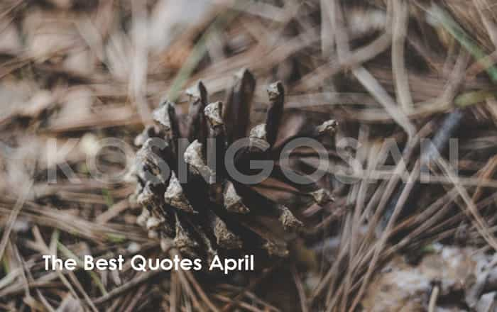 kata bulan april