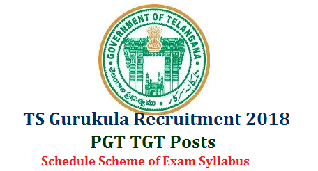 TS Gurukula TGT PGTRecruitment Notification 2018 Get Details @www.treirb.telangana.gov.in