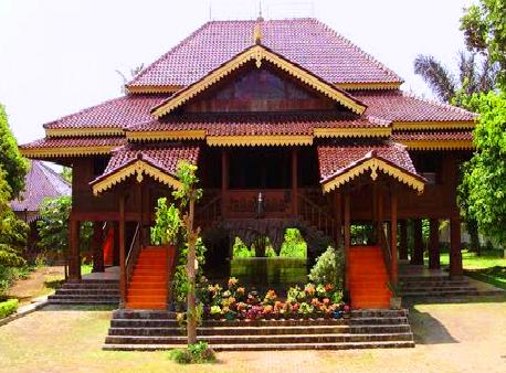 720 Gambar Rumah Adat Lampung HD Terbaik