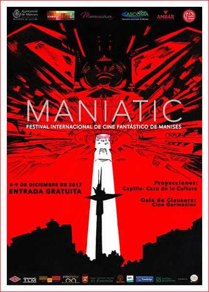 Maniatic 2017, un nuevo festival centrado en el cine Fantástico.
