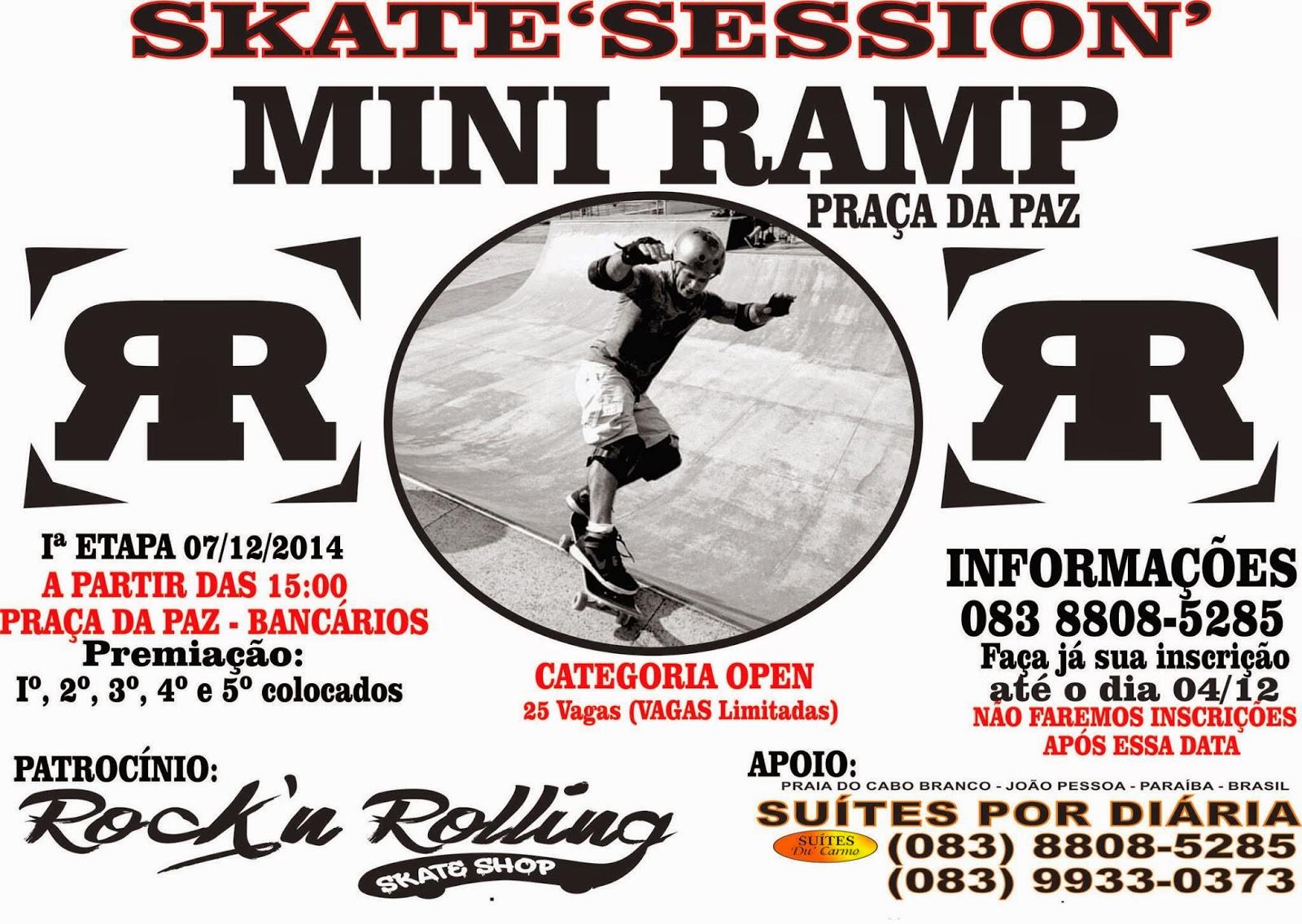 34c85b15a74232 SkateMasters-Jpa  Domingo tem campeonato na Praça da Paz