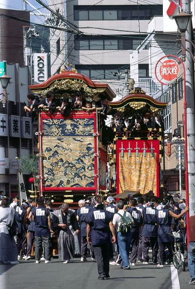 Otsu Matsuri (Float Parade), Otsu City, Shiga Pref.