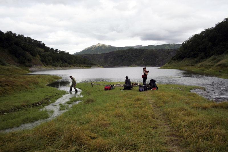 озеро ангре камчатка